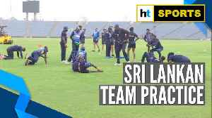 Watch: Sri Lanka gear up for 3rd T20I against India [Video]