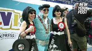 Put on your 'Blue Suede Shoes' — Australia's Elvis Festival is in town [Video]