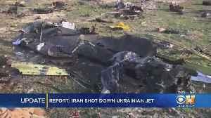 U.S. Officials: Confident Iran Shot Down Ukrainian Airliner [Video]