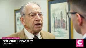 EXCLUSIVE: Despite GOP Criticism, Sen. Grassley Insists Iran Briefing 'Very Proper' [Video]