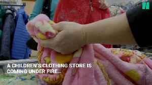 Children's Clothing Store Under Fire Over Unsold Clothes Found In Trash [Video]