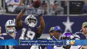 Cowboys' Amari Cooper, Jaylon Smith Added To Pro Bowl Roster [Video]