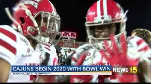 Cajuns Begin 2020 With Bowl Win [Video]