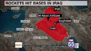 Iran strikes back at US with missile attack at bases in Iraq [Video]