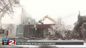 Five buildings destroyed in Boonville fire [Video]