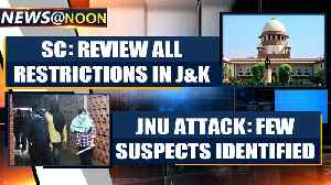 SC on J&K: All restrictive orders must be made public, review all restrictions within a week [Video]