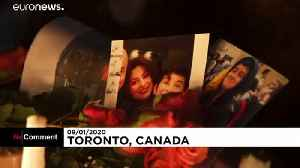 Canada holds vigils for victims of plane crash in Iran [Video]