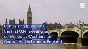 This Day in History: First Meeting of the United Nations [Video]