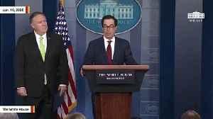 Mnuchin, Pompeo Announce New Iran Sanctions [Video]