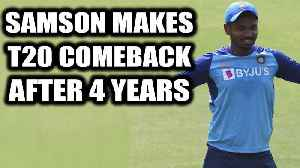 India Vs Sri Lanka 3rd T20I: Sanju Samson makes India comeback after waiting for 1637 days [Video]