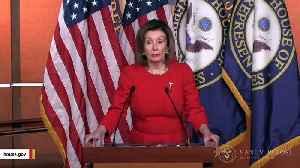 Pelosi Says She'll Send Trump Impeachment Articles To Senate Next Week [Video]