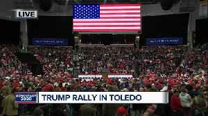 President Donald Trump, Vice President Mike Pence to appear at rally in Toledo tonight [Video]