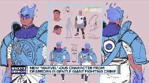 Meet the creator of Amulet, the new Marvel superhero from Dearborn who will appear in the Ms. Marvel comic [Video]