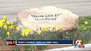 The Groundbreaking on Lauren Hill Memorial Park is expected in spring [Video]
