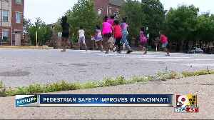 Vision Zero Cincinnati: Pedestrian-involved crashes dropped in 2019, according to city data [Video]