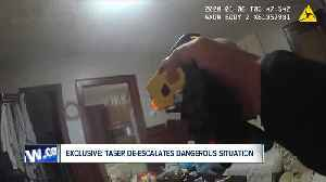 Caught on camera: Buffalo Police Department says taser pilot program saved man's life [Video]