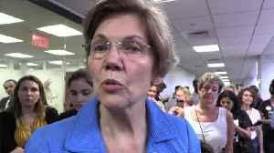 Warren sinks in polls, again [Video]