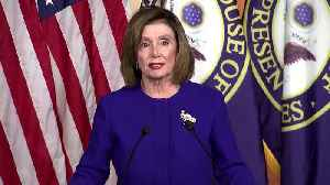 Pelosi signals impeachment charges may go to Senate next week [Video]