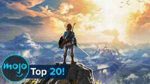 Top 20 Open World Video Games of All Time [Video]