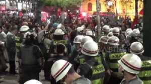 Bus fare protest in Sao Paulo turns violent [Video]
