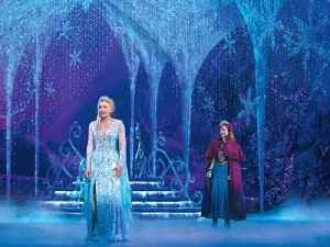 Backstage Tour of Frozen: The Musical at the Hollywood Pantages [Video]