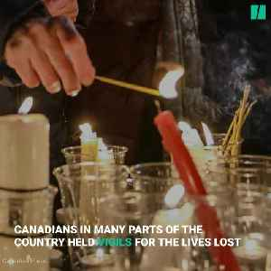News video: Canadians Come Together To Mourn Flight 752
