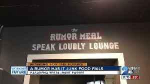 A rumor has it junk food fails, Pasadena restaurant passes [Video]