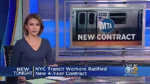 NYC Transit Workers Ratified New 4-Year Contract [Video]