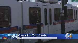 RTD Gives Riders More Heads Up About Cancelled Trips [Video]