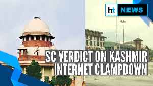 SC orders review of internet suspension in Kashmir in 7 days: The key points [Video]