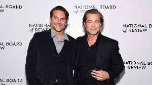 Brad Pitt thanks Bradley Cooper for helping him get sober [Video]