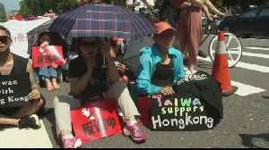 Hong Kong movement drives Taiwan pro-independence support [Video]