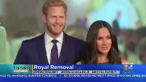 News video: Trending: Prince Harry & Meghan Markle Wax Figures Removed