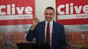 News video: Clive Lewis: Labour leadership hopeful calls for referendum on royal family