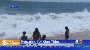 King Tides Rising In Manhattan Beach [Video]