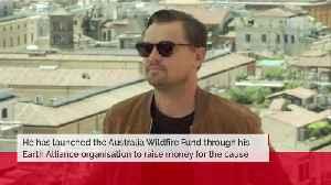 Leonardo DiCaprio's 3m donation to Australia [Video]