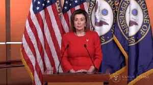 News video: Pelosi Says She'll Send Trump Impeachment Articles To Senate Next Week
