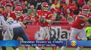 Texans-Chiefs Preview: Can Watson and Houston Keep Up With Mahomes and Kansas City? [Video]