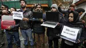 India's top court orders review of Kashmir internet shutdown [Video]