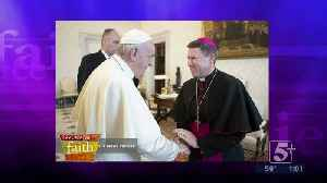 Issues of Faith: Bishop Spalding meets with the Pope p1 [Video]