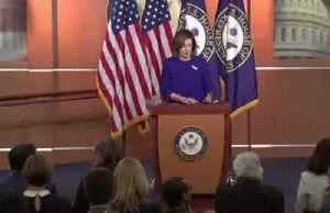 News video: Pelosi signals impeachment charges may go to Senate next week