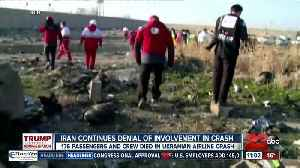 News video: Iran continues denial of involvement in plane crash