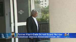 Solomon Stinson Released From Jail [Video]
