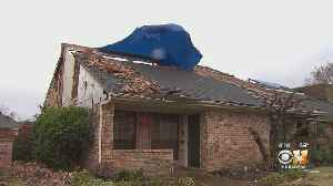 Dallas Tornado Victims Who Are Starting To Rebuild Brace For More Potential Severe Weather [Video]