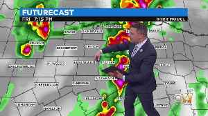 Severe Weather In North Texas Friday Evening [Video]