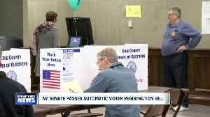 State Senate passes revised bill that would automatically register voters [Video]