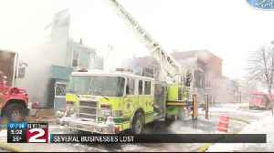 Several businesses lost in Boonville fire [Video]