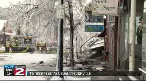 Boonville businesses lost in fire [Video]