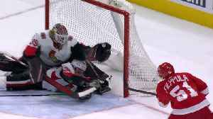 Marcus Hogberg makes multiple desperation saves in a save-of-the-year sequence [Video]