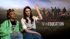 Sex Education cast reveal what they'd ask in sex ed class [Video]